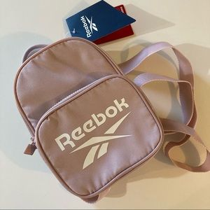 Reebok mini backpack pink new